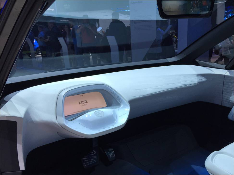 VW Concept Car I.D. Display